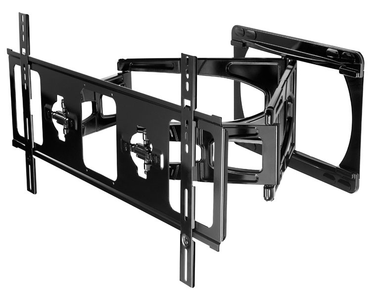 peerless slws450 bk ultra slim xl tv wandhalterung. Black Bedroom Furniture Sets. Home Design Ideas